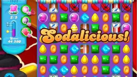 Candy Crush Soda Saga Level 1582 (3 Stars)
