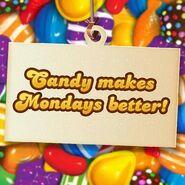 Candy makes Mondays better!