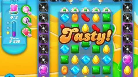 Video - Candy Crush Soda Saga Level 1385 (buffed, 3 Stars ...