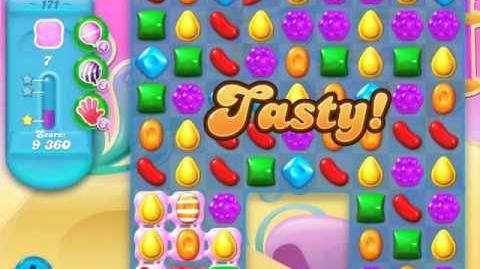 Candy Crush Soda Saga Level 171 (nerfed, 3 Stars)