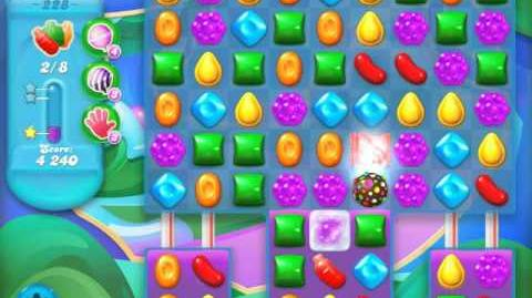Candy Crush Soda Saga Level 228 (nerfed, 3 Stars)