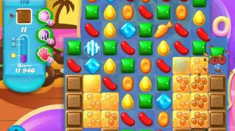 Candy Crush Soda Saga Level 110 (5th version, 3 Stars)