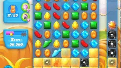 Candy Crush Soda Saga Level 155 (4th version, 3 Stars)