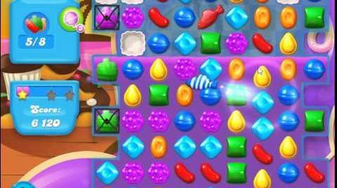 Candy Crush Soda Saga Level 114 (2nd version, 3 Stars)