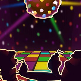 Disco Delish background
