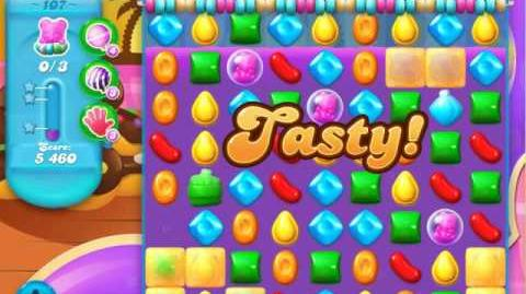 Candy Crush Soda Saga Level 107 (buffed)