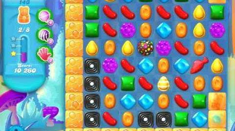 Candy Crush Soda Saga Level 143 (4th version, 3 Stars)