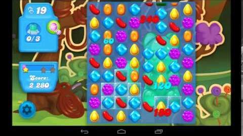 Candy Crush Soda Saga Level 8 - 3 Star Walkthrough