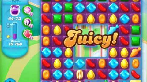 Candy Crush Soda Saga Level 267 (2nd nerfed, 3 Stars)