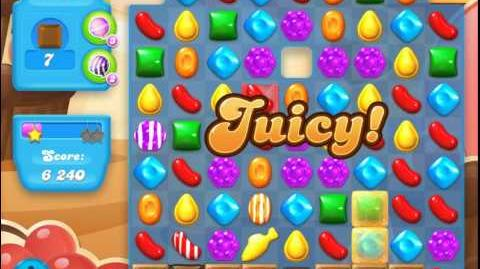 Candy Crush Soda Saga Level 93 (2nd nerfed, 3 Stars)