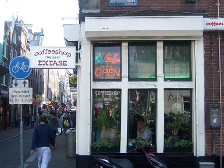 Amsterdam coffee shop 2007 April 1
