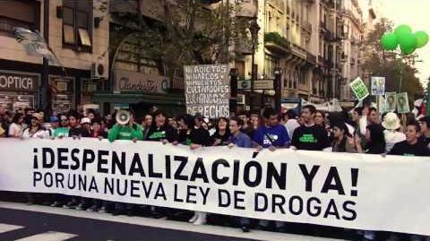 Marcha Mundial de la Marihuana 2010, Argentina - Parte 2 4 (Marcha)