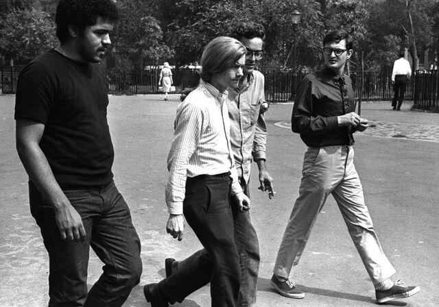 File:Dana Beal 1967 Tompkins Square Park in NYC.jpg