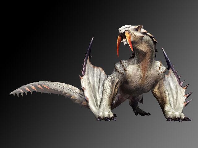 File:Monster Hunter 3 Tri -Barioth.jpg