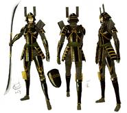 Katsuie Shibata concept