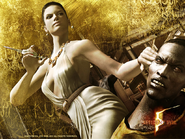 RE5 Gold Mercs Excella