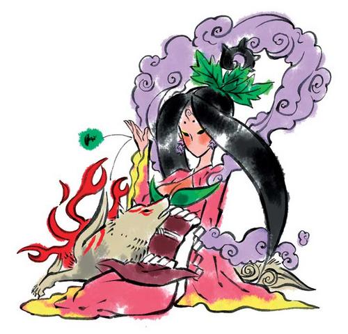 File:Sakuya and Amaterasu.png