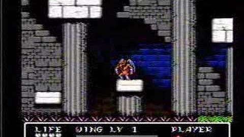 Gargoyle's Quest II - NES Gameplay