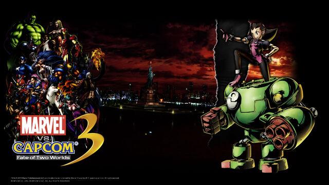 File:Marvel Vs Capcom 3 wallpaper - Tron Bonne.jpg