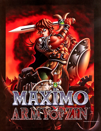 Maximo Vs AoZ Japan Art