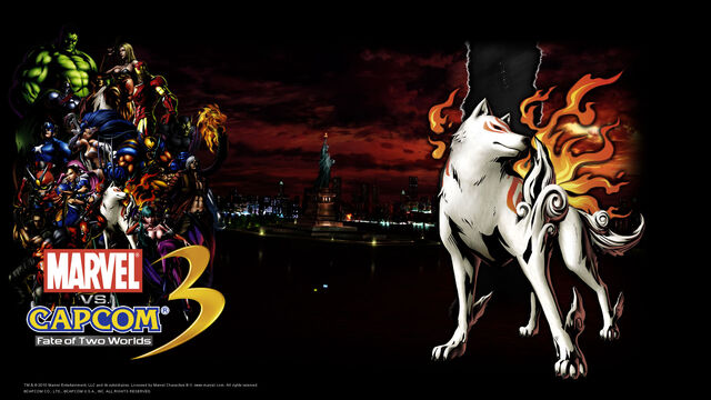 File:Marvel Vs Capcom 3 wallpaper - Amaterasu.jpg