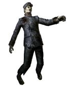 Train Conductor Zombie