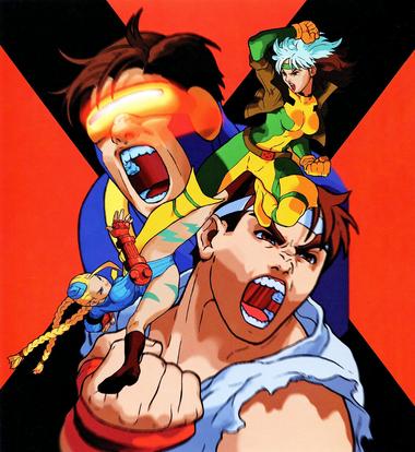 X-Men Vs SF Art