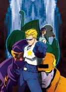 CapCom Manga Cover Art