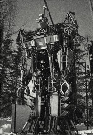 Unfinished Soviette Mech
