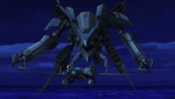 Captain Earth Wiki - Unmanned Impacter- Sarama Engine - Transformed
