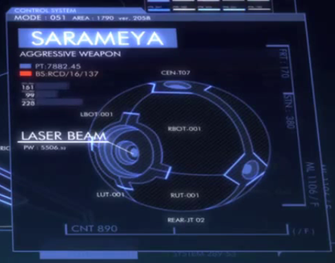 File:Captain Earth Wiki - Unmanned Impacter - Sarameya - Blue Print.png