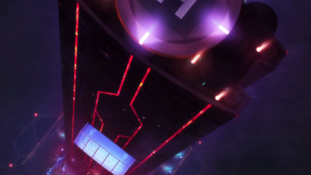 File:Captain Earth Wiki - Loctaion - Macbeth Tower - Top down Veiw - Night.png