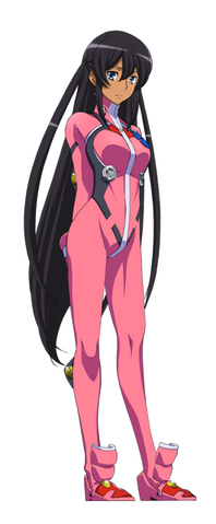 File:Captain Earth Wiki - Character - Hana Mutou - Flight Suit.png