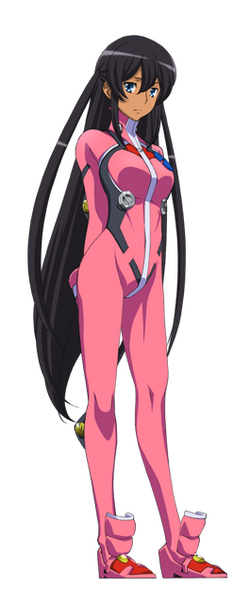 Captain Earth Wiki - Character - Hana Mutou - Flight Suit