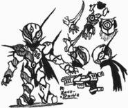 Captain japan zect double doodles by kainsword kaijin-d9d6sxf