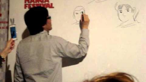 Yoichi Takahashi al Milano Manga Festival 18-05-2013