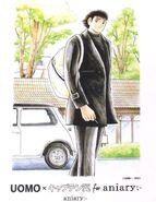 Uomo x Captain Tsubasa for aniary