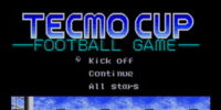 Tecmo Cup Football Game (SMD)