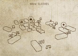 Caravaneer Towns - Brew Sleeves