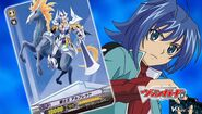 Aichi with King of Knights, Alfred