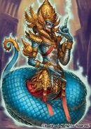 Demonic Dragon Mage, Rakshasa (Full Art)