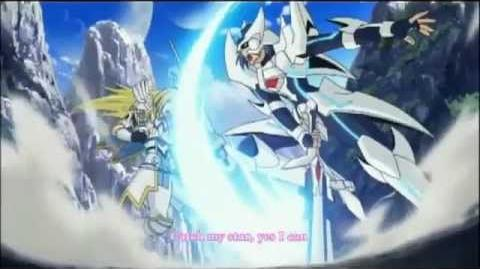 Cardfight!! Vanguard - Season 1 Ending 3 - Dream Shooter (English Version - Lyrics On Screen)