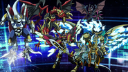 Thavas-ProminenceCore-SinBuster-GauntletBuster-Angerboil-Genovious-Magatsu (Anime-GC-NC)