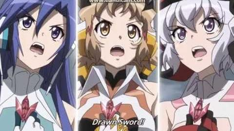 Favorite anime moments Senhime Zesshou Symphogear GX