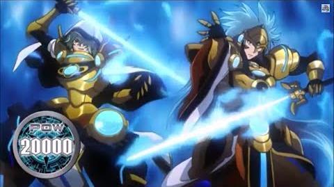 (Legion Mate) Blue Flame Liberator, Percival & Liberator of Oath, Aglovale 'Legion' - HD-1