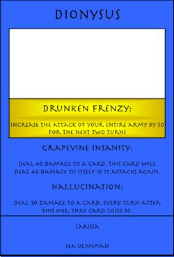Dionysus Card