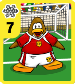 Level 7 Snow Soccer card