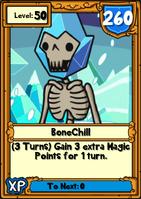 BoneChill Hero Card