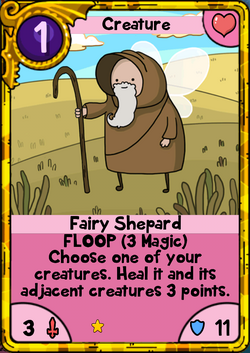 Fairy Shepard Gold