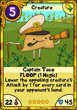 Captain Taco Gold